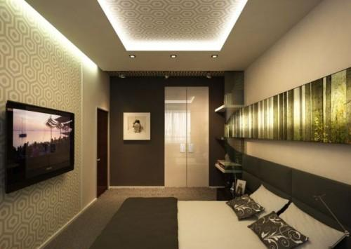 Дизайн спальни с телевизором. Фото 3