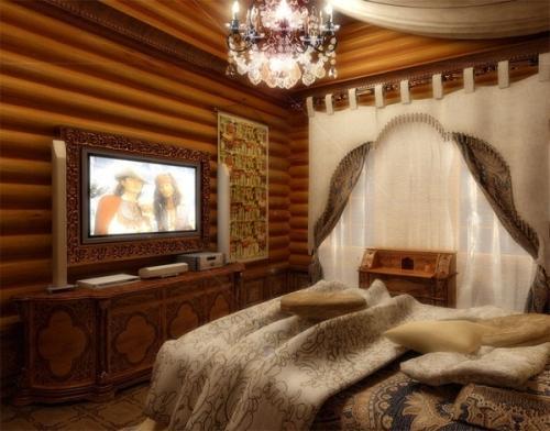 Дизайн спальни с телевизором. Фото 6