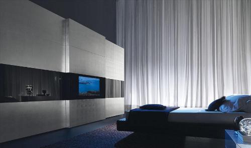 Дизайн спальни с телевизором. Фото 7