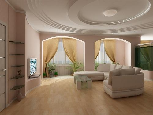 Дизайн зала. Фото 11