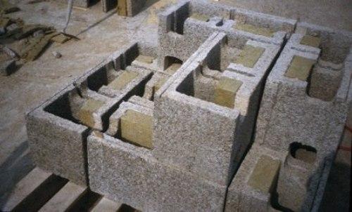 Опалубка из древесно-цементных блоков