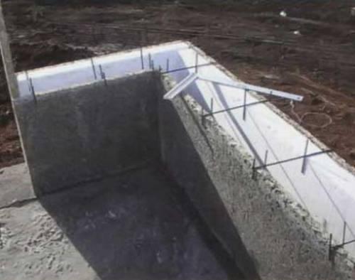 Несъемная опалубка из древесно-цементных плит