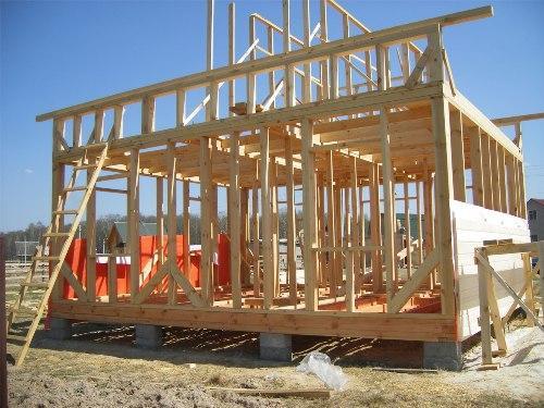 Строительство каркаса деревянного дома своими руками