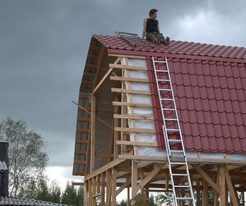 Устройство крыши