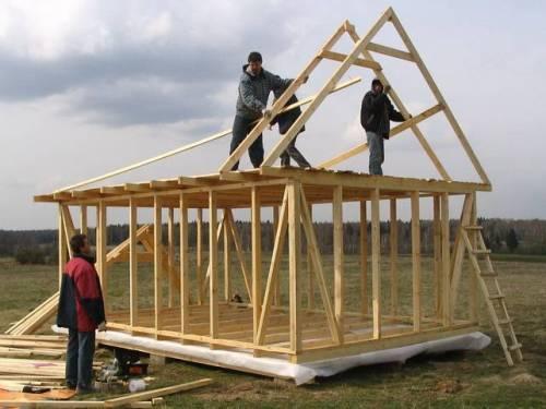 Как построить каркасный дом своими руками?