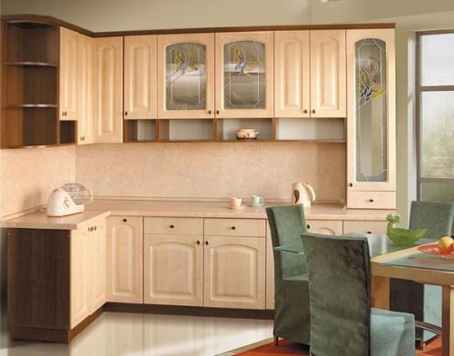 Фасады для кухни с пленочным покрытием