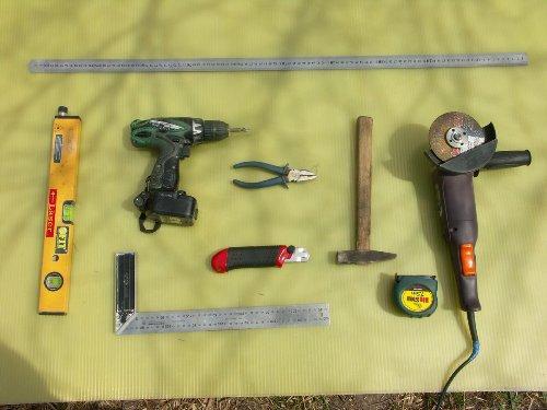 Инструменты для изготовления каркаса теплицы
