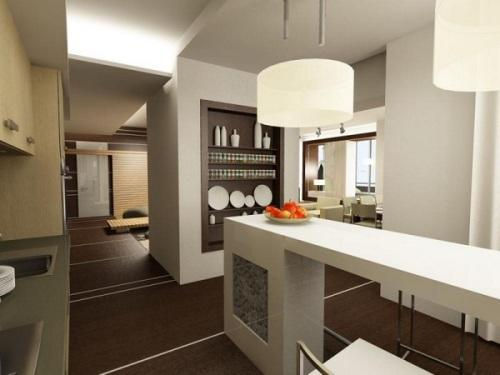 Кухни 9 кв. м. Фото 11