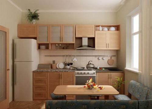 Кухни 9 кв. м. Фото