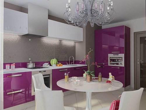 Кухни 9 кв. м. Фото 3