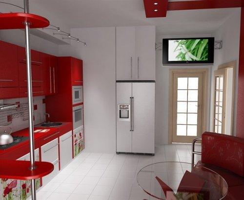 Кухни 9 кв. м. Фото 4