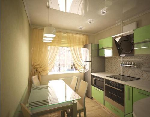 Кухни 9 кв. м. Фото 7
