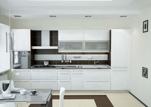 Кухни 9 кв. м. Фото 9