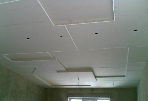 Монтаж многоуровневых потолков из гипсокартона своими руками