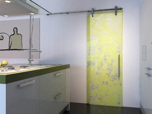 Раздвижные двери для ванной и туалета