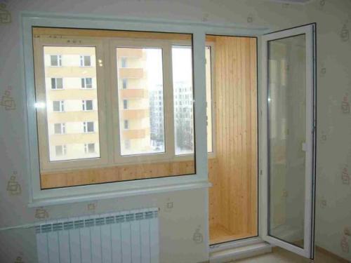 Регулировка пластиковой балконной двери