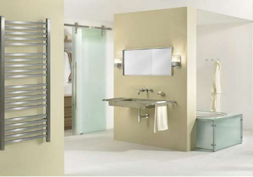 Стеклянные двери для ванной и туалета. Фото 6