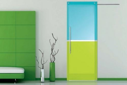 Стеклянные двери для ванной и туалета. Фото 8