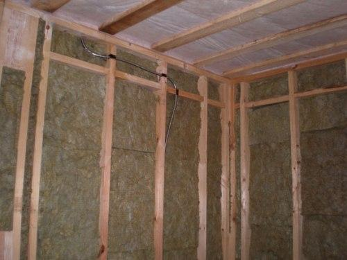 Утепление каркасного дома. Какой материал использовать для утепления каркасного дома?