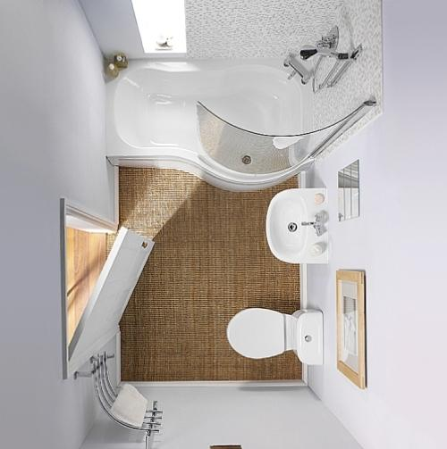 Ванная комната 3 кв. м. Фото 6