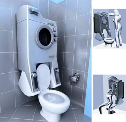 Ванная комната 4 кв. м. Фото 3