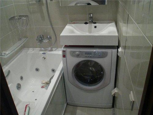 Ванная комната 4 кв. м. Фото 4
