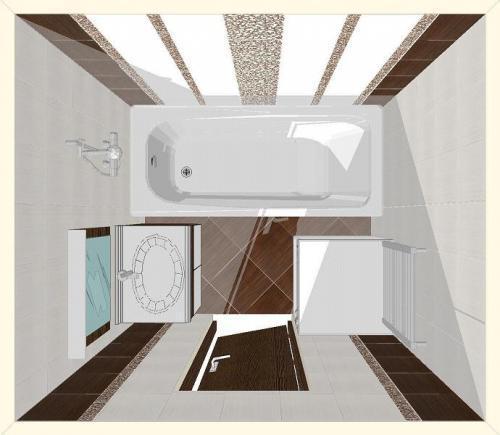 Рекомендации по организации пространства ванной комнаты 4 кв. м