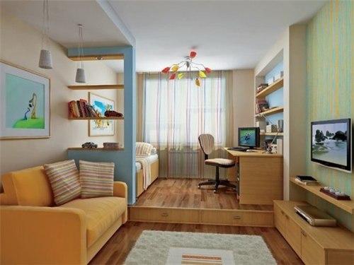 Как правильно выбрать высоту установки телевизора в спальне?