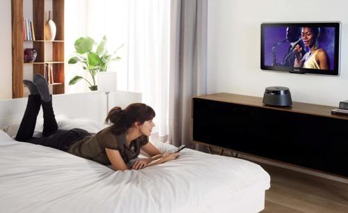 Высота установки телевизора в спальне