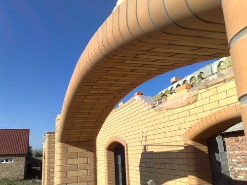 Устройство арки под балконной плитой
