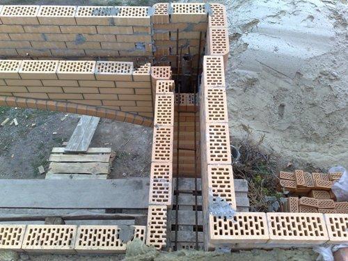 Опалубка для устройства железобетонного пояса балкона