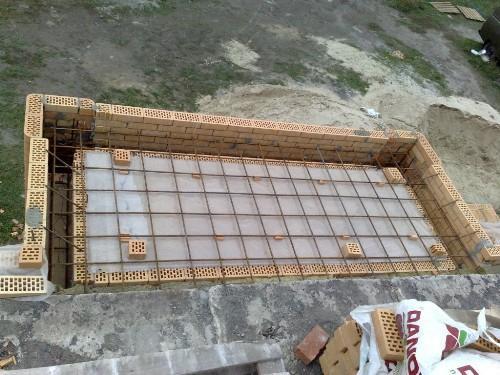 Армирование балконной плиты