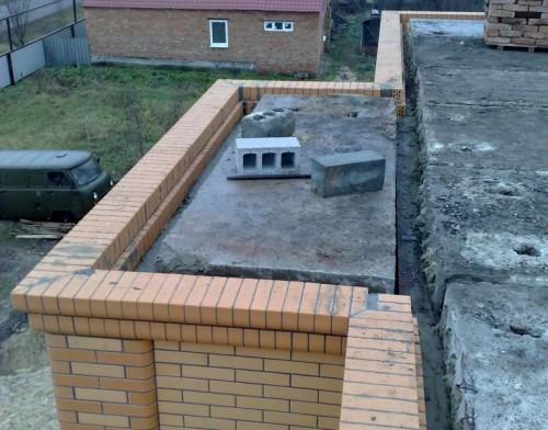 Перекрытие балкона пустотными плитами