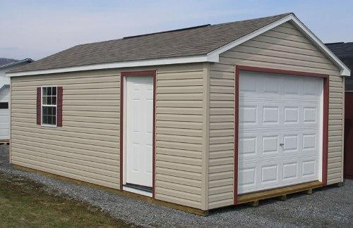 Как сделать деревянный гараж?