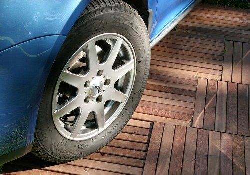 Как сделать деревянный пол в гараже
