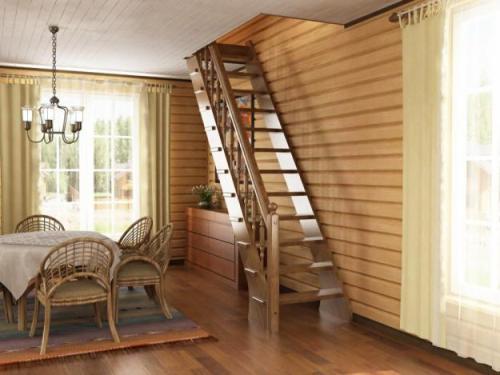 Какой может быть лестница в доме? Типы лестниц