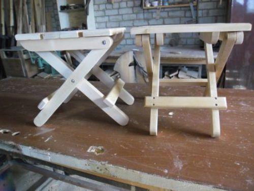 Материалы для изготовления складного стула