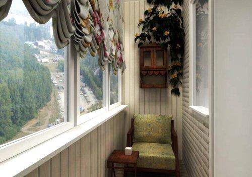 Оформление балкона своими руками