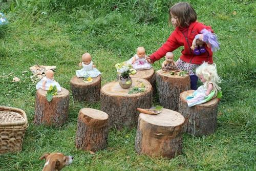 Пеньки для детской площадки