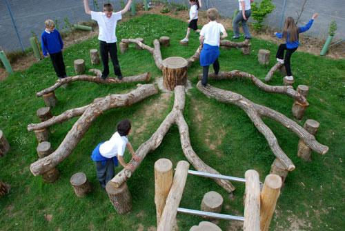 Дерево-карусель