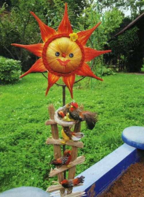Солнышко для детской площадки