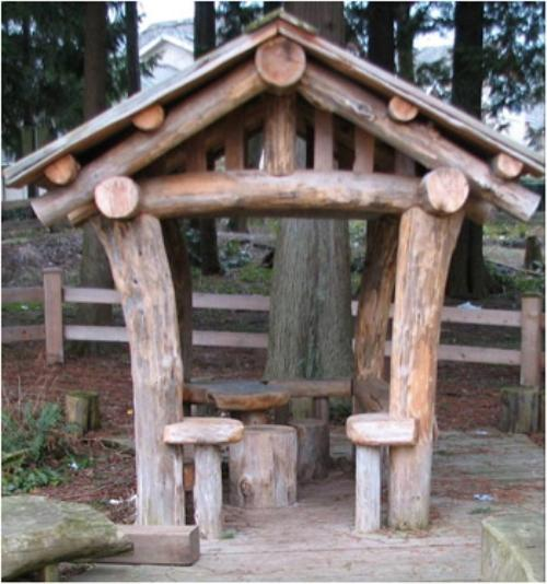 Детский домик для детской площадки