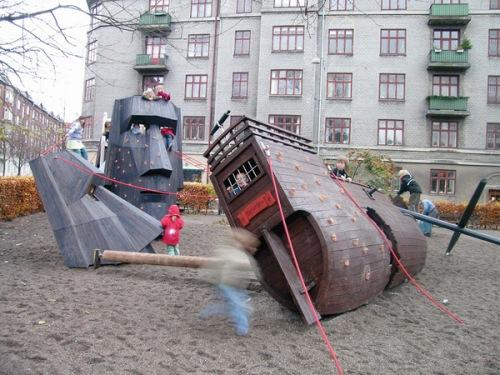 Изготовление детских деревянных игровых площадок