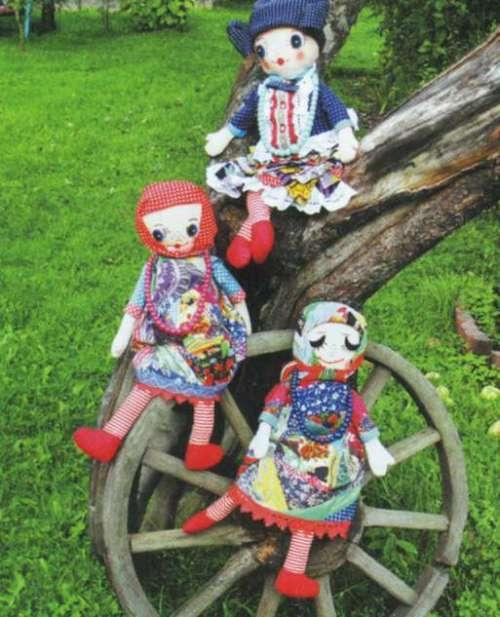 Самодельные куклы для детей