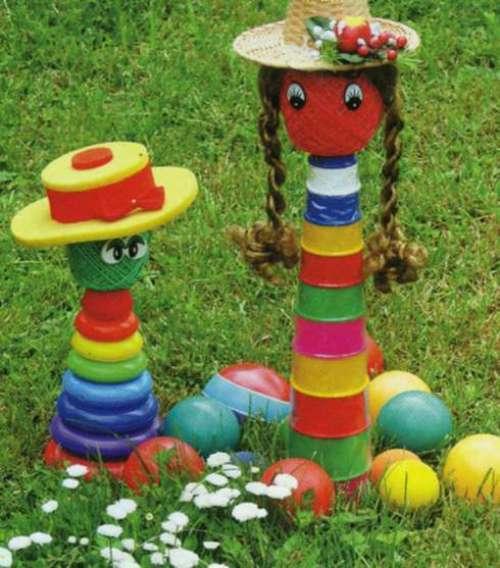 Пирамида для детской площадки