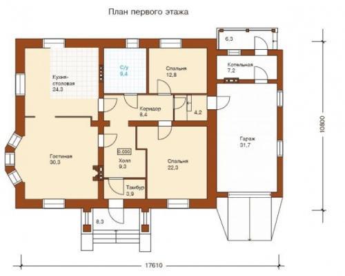Составляем план комнат в доме