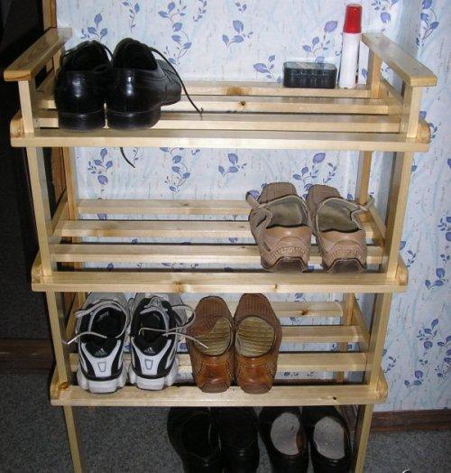 Тумбы для обуви в прихожую своими руками