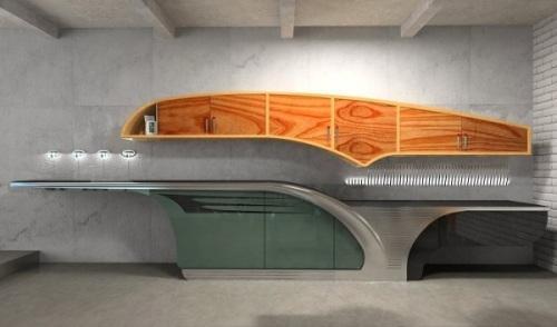 Проект современной кухни Buick-Chief. Фото 2