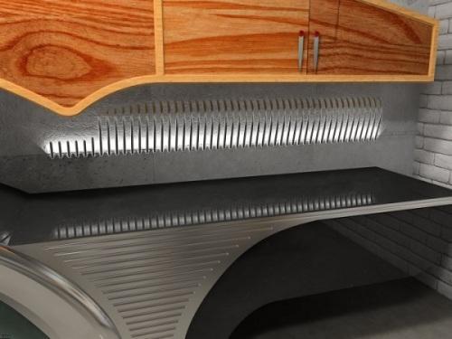 Проект современной кухни Buick-Chief. Фото 3