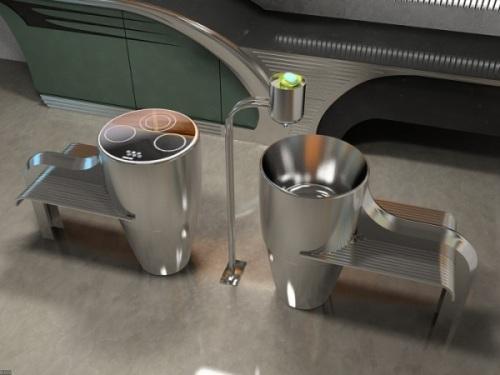 Проект современной кухни Buick-Chief. Фото 5